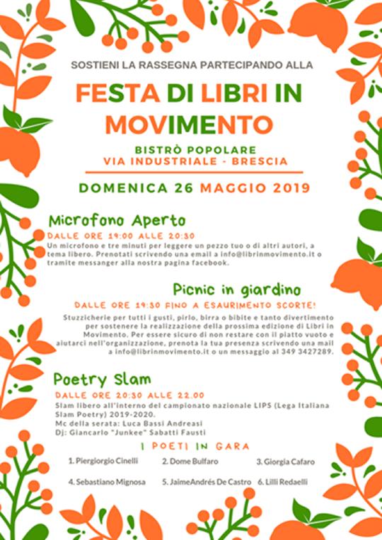 Festa dei Libri in Movimento a Brescia