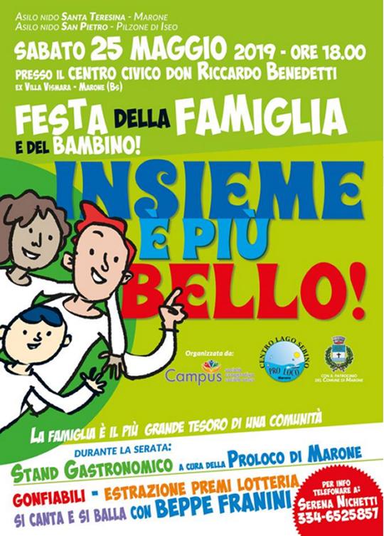 Festa della Famiglia e del Bambino a Marone
