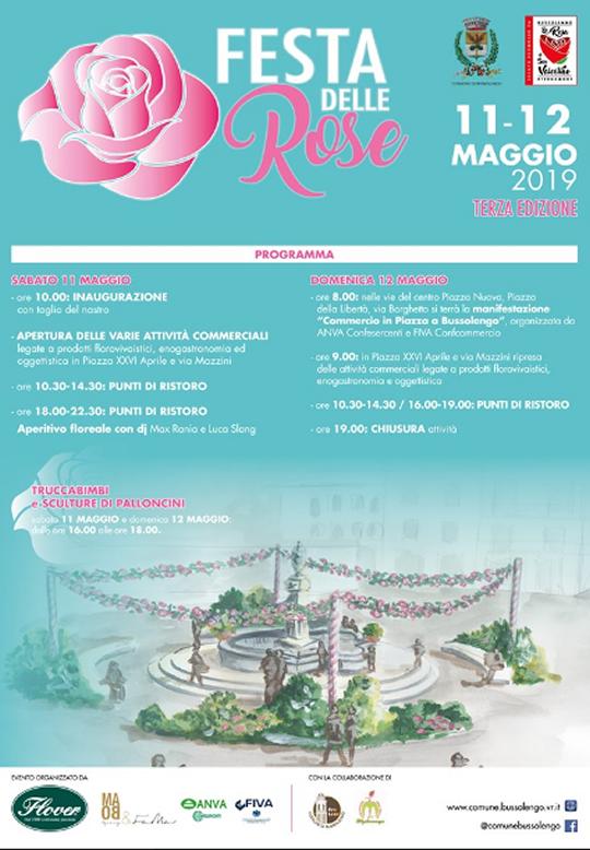 Festa delle Rose a Bussolengo VR