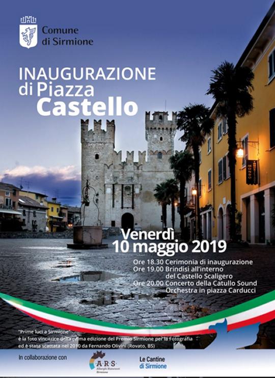 Inaugurazione di Piazza Castello a Sirmione