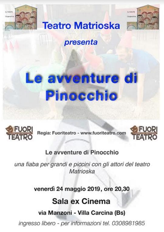 Le Avventure di Pinocchio a Villa Carcina