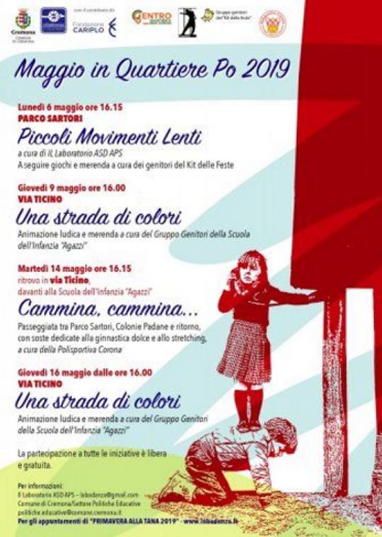 Maggio in Quartiere Po a Cremona