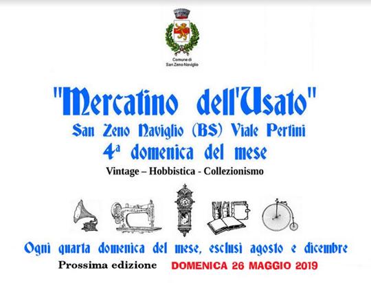Mercatino dell'Usato e dell'Hobbistica a San Zeno Naviglio