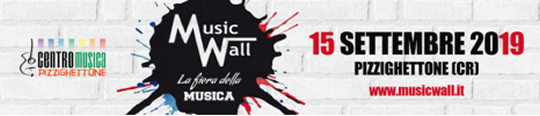 Music Wall La Fiera della Musica a Pizzighettone CR