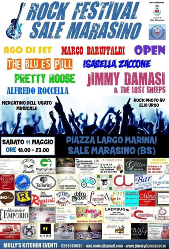 Rock Festival a Sale Marasino