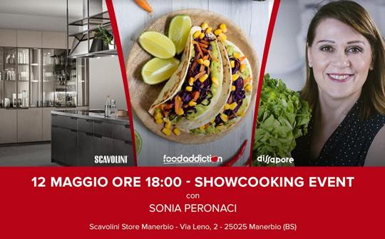 Show-cooking di Sonia Peronaci a Manerbio