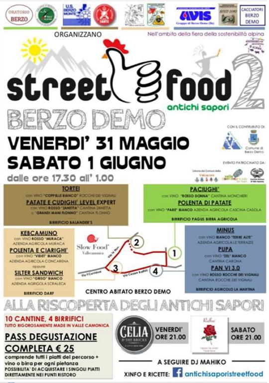 Street Food Antichi Sapori a Berzo Demo