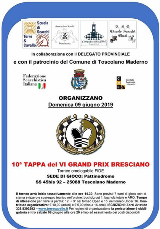 Torneo Scacchi a Toscolano Maderno
