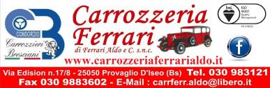 banner carrozzeria ferrari