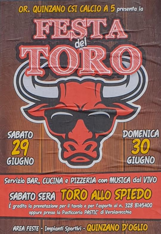Festa del toro a Quinzano