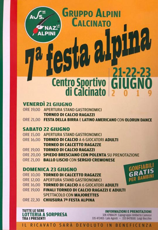 7° Festa Alpini Calcinato