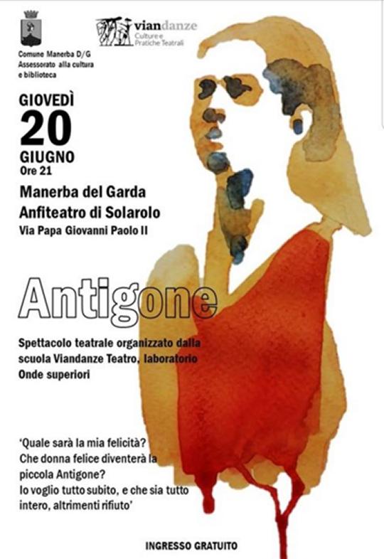 Antigone a Manerba del Garda