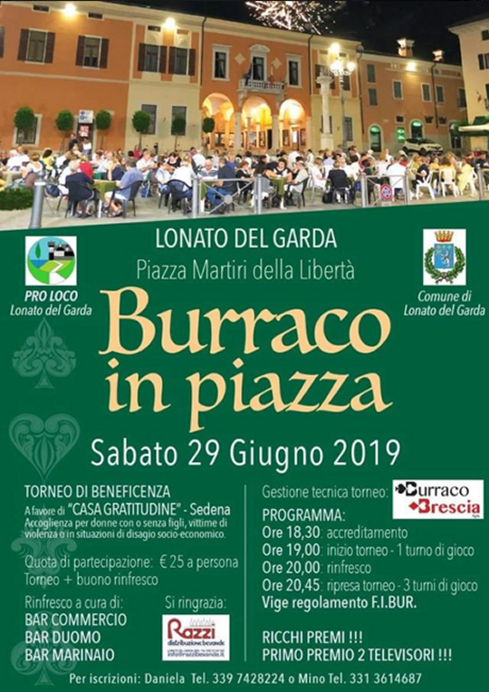 Burraco in Piazza a Lonato