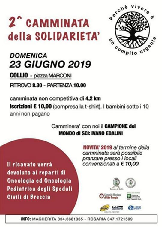 Camminata della Solidarietà a Collio