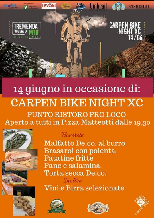Carpen Bike Night XC a Carpenedolo