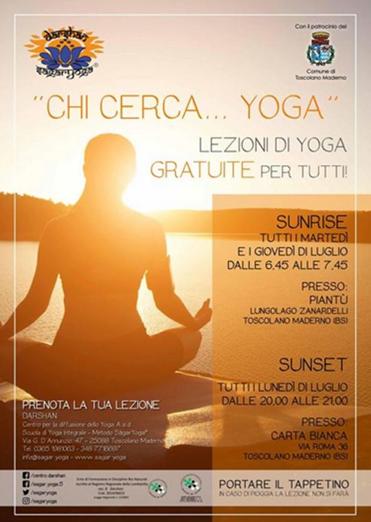 Chi cerca Yoga a Toscolano Maderno