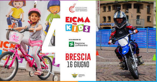 Eicma for Kids a Brescia
