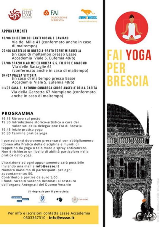 Fai Yoga per Brescia