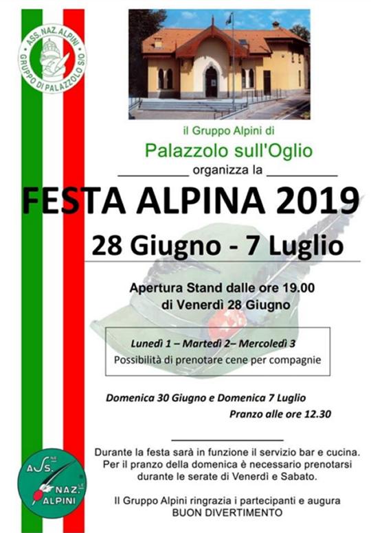 Festa Alpina Palazzolo sull'Oglio