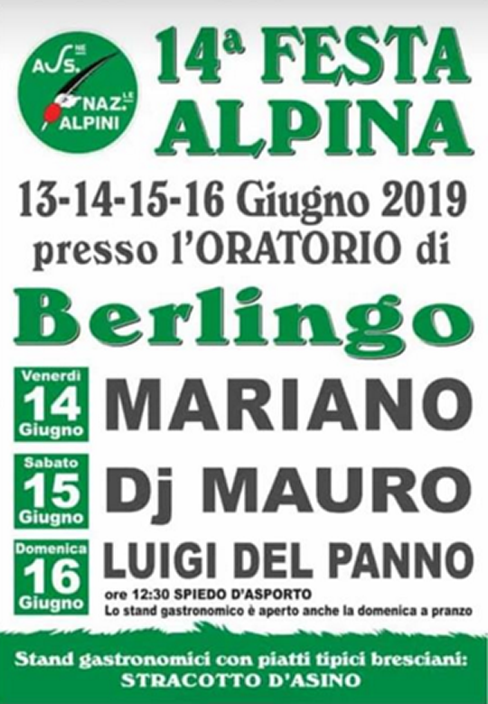 Festa Alpina a Berlingo