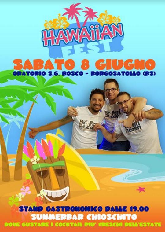 Festa Hawaiana 2019 a Borgosatollo