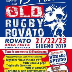 Festa Old Rugby Rovato