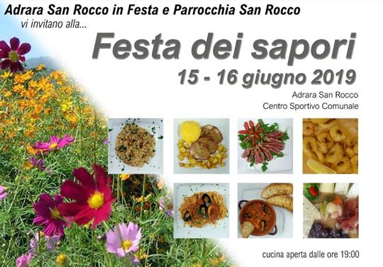 Festa dei Sapori di Adrara San Rocco BG