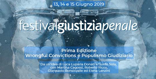 Festival Giustizia Penale a Modena