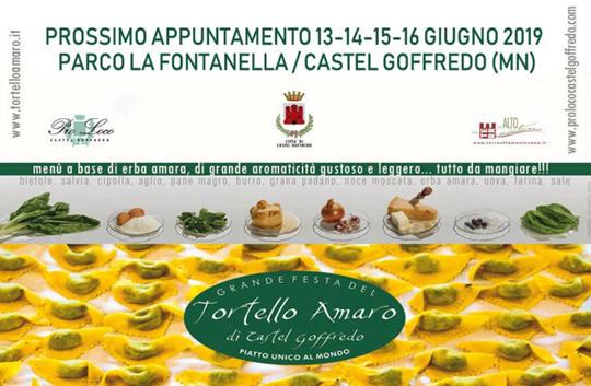 Grande Festa del Tortello Amaro a Castel Goffredo MN