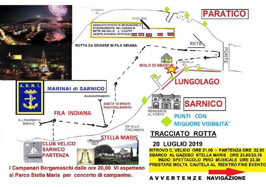 La Processione della Madonna di Stella Maris Lago d'Iseo