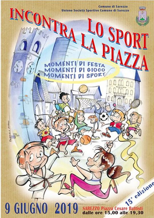 Lo Sport Incontra la Piazza a Sarezzo