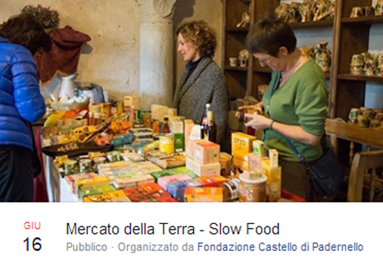 Mercato della Terra Slow Food a Padernello
