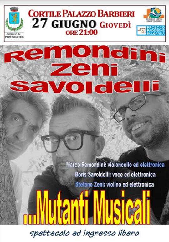 Mutanti Musicali a Padenghe