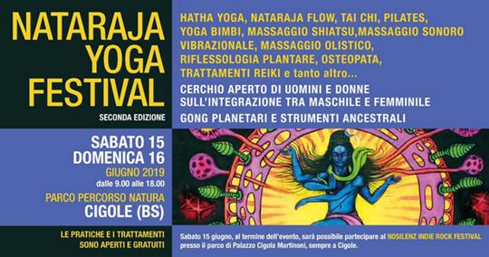 Nataraja Yoga Festival a Cigole