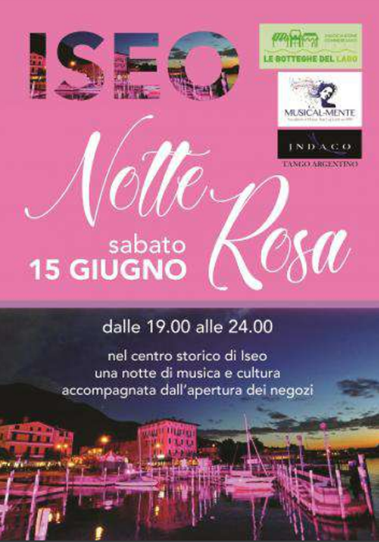 Notte Rosa a Iseo