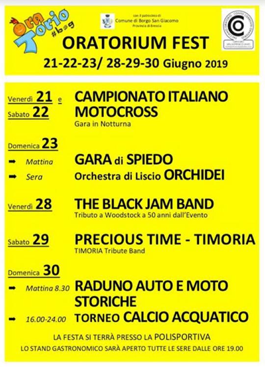 Oratorium Fest a Borgo San Giacomo