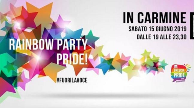 Raimbow Party Pride al Carmine