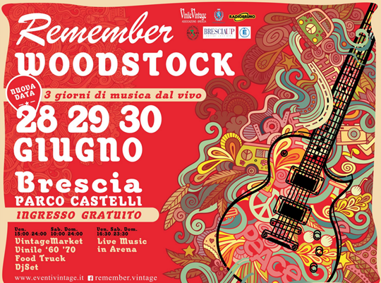 Remember Woodstock a Brescia