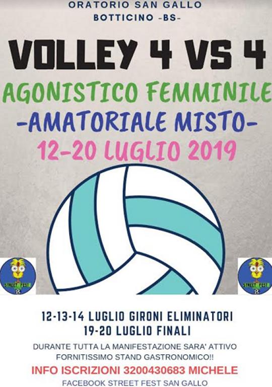 Volley 4 Vs 4 a Botticino