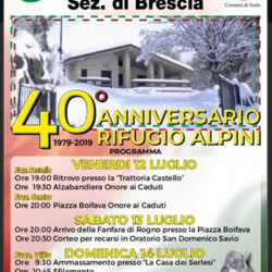 Anniversario Rifugio Alpini Serle