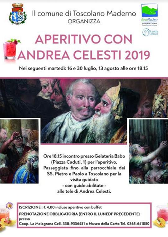 Aperitivo con Andrea Celesti a Toscolano Maderno