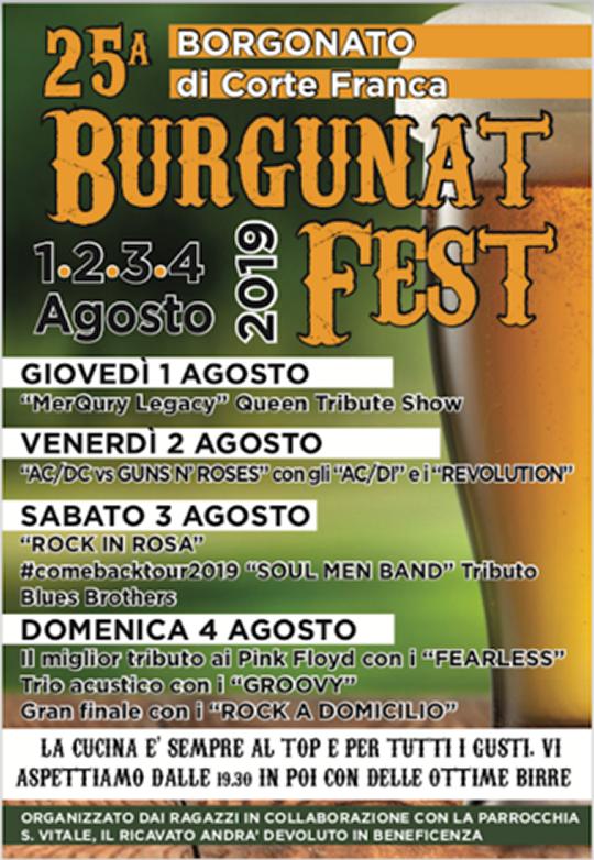 Burgunatfest a Borgonato di Corte Franca