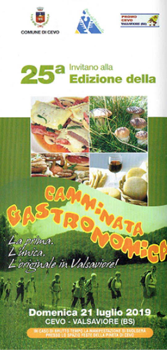 Camminata Gastronomica in Valsaviore