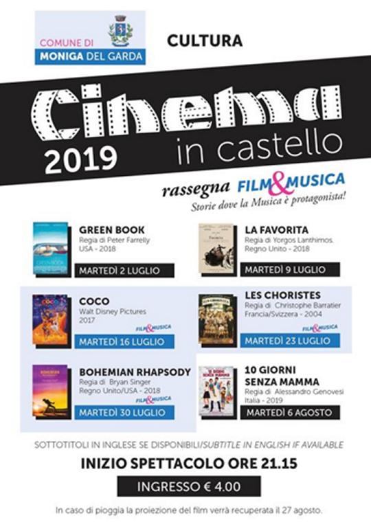 Cinema in Castello a Moniga