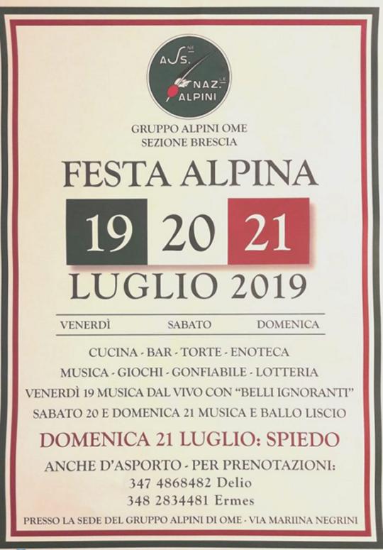 Festa Alpina Ome
