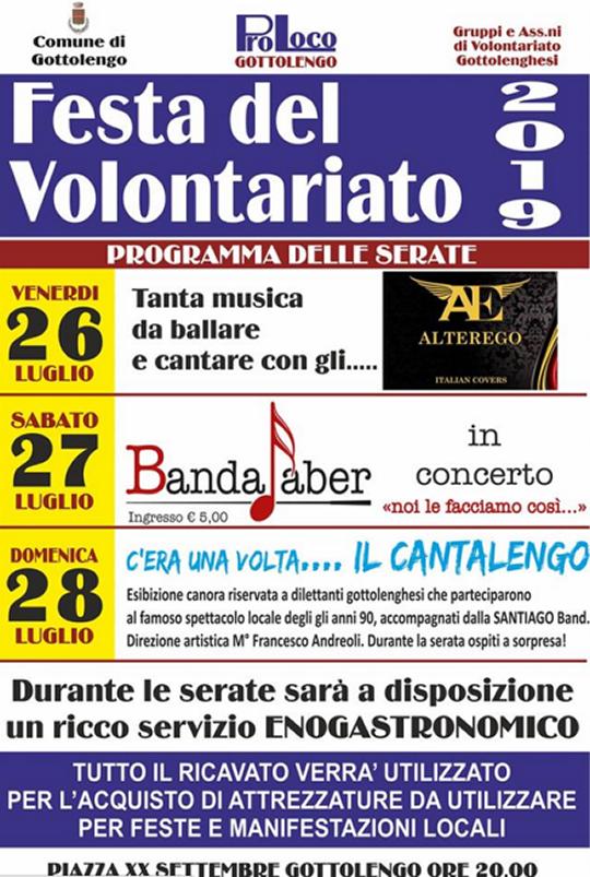 Festa del Volontariato a Gottolengo