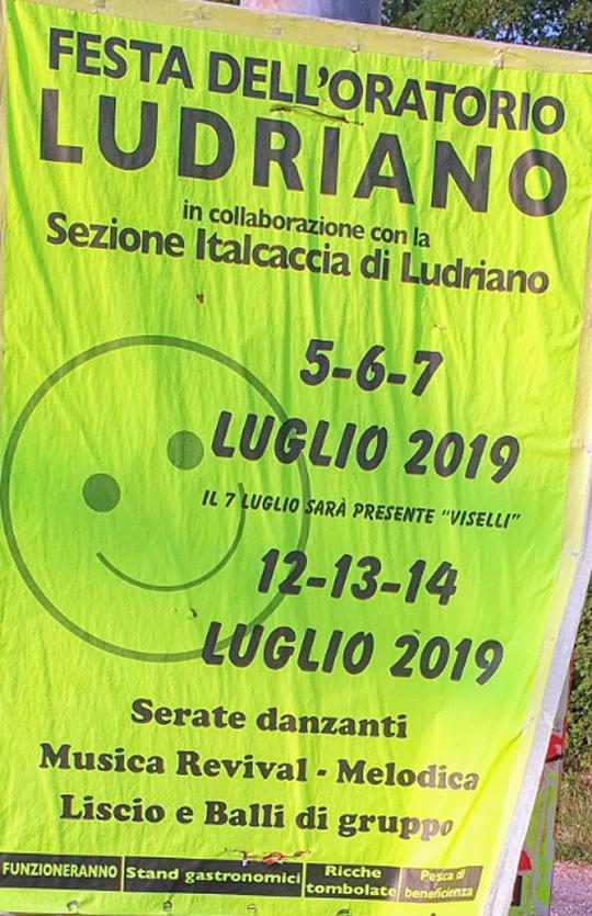Festa dell'Oratorio di Ludriano