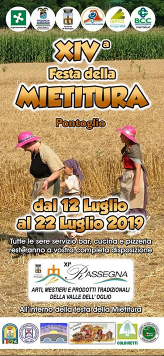Festa della Mietitura a Pontoglio