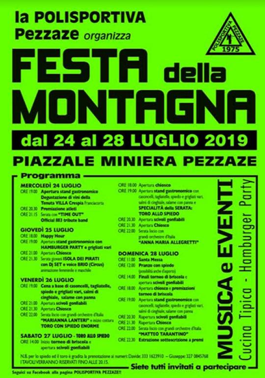 Festa della Montagna a Pezzaze