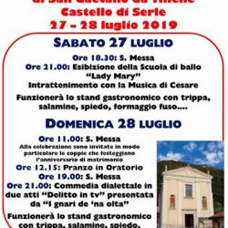 Festa di San Gaetano da Thiene a Serle